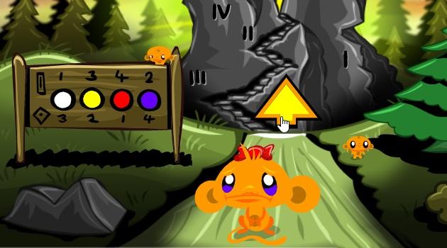 Chú khỉ buồn màn 8: Đi tìm kho báu
